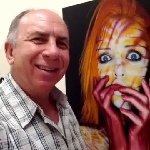 Paul Roustan Painted People Gallery Show As