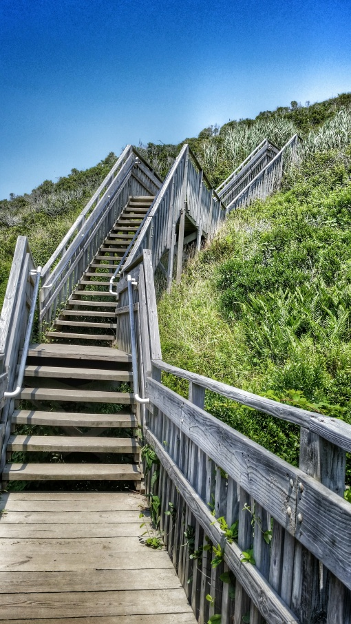 144 steps to the cliffs