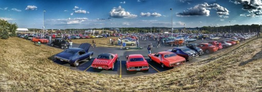Cruise Night Parking Lot