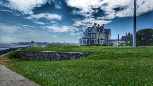 Salver Regina University and Gazabo Newport RI
