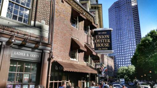 ye olde Union Oyster House Boston