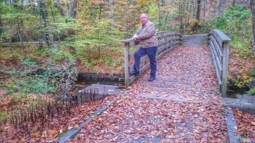 Blackstone River Bruce On Bridge
