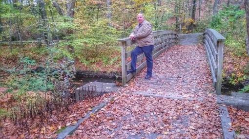Blackstone River Bruce On Bridge